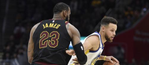 LeBron wants more chips than Curry - (Image: NBAYouTube)