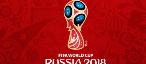 Logo dei Mondiali di Russia 2018.