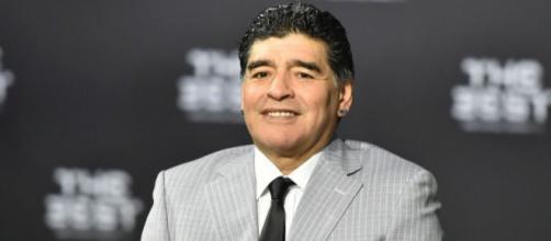 Maradona e la sua poca sportività