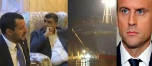 Matteo Salvini si apre sull'attracco a Pozzallo del cargo Maersk. Blasting News