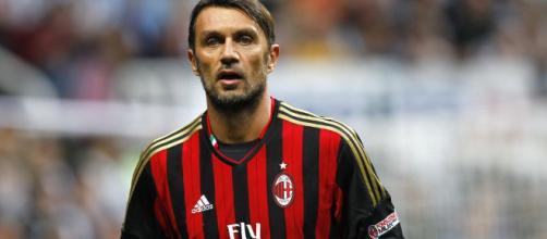 Paolo Maldini, leggenda del Milan