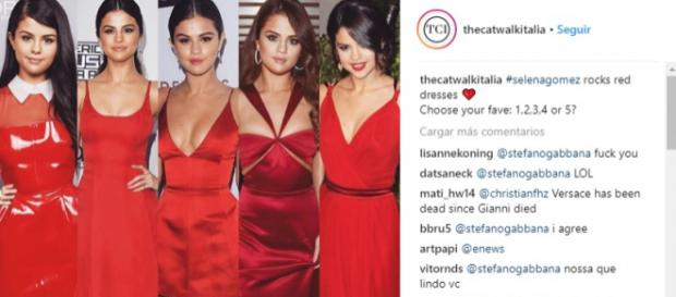 El diseñador de Dolce&Gabanna llama fea a Selena Gomez