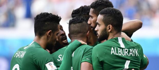 L'Arabie Saoudite a marqué le but de la victoire dans les derniers instants du match.