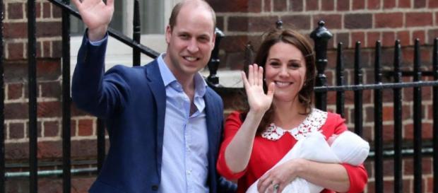 La familia real se prepara para el bautizo del Príncipe Louis
