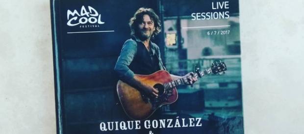 Quique González saca su nuevo trabajo llamado 'En vivo desde Radio Station'