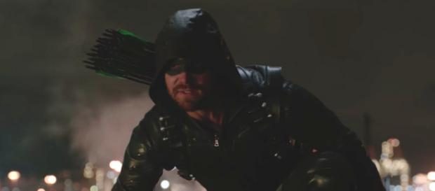 The 'Arrow' cast will be part of a panel for the Warner Bros. TV lineup at Comic-Con this year. [Image via The CW/YouTube]