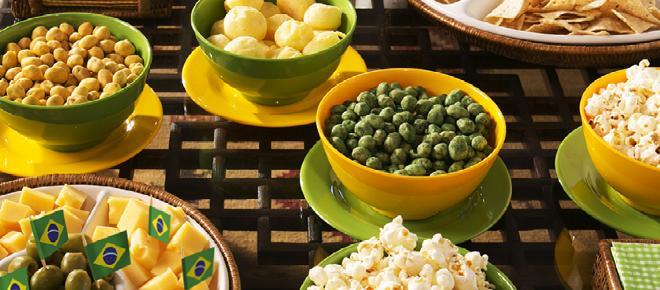 Receitas práticas e criativas para comer enquanto assiste a Copa do Mundo 2018
