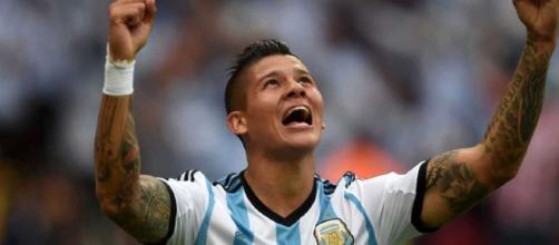 Faustino Marcos Alberto Rojo, difensore argentino autore del gol qualificazione.