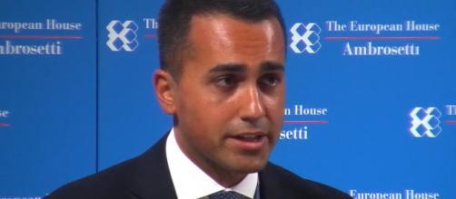 Il leader del M5S, Luigi Di Maio, criticato per la sua iniziativa relativa ai tagli delle pensioni d'oro - ildenaro.it