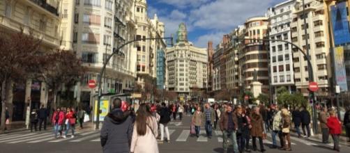 Segun el INE la tasa de inmigración hacia España va en aumento
