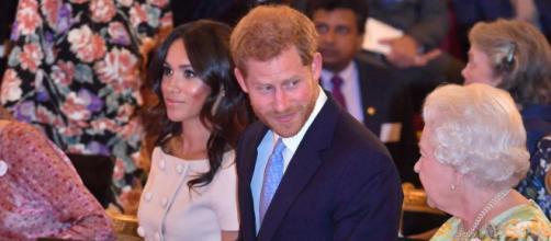 Meghan celebra junto a Harry los premios 'The Queen's Young Leaders ' en Palacio