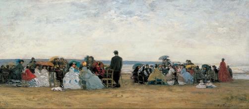 MADRID / Monet/Boudin exposición en el Thyssen-Bornemisza