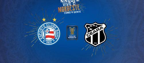 O Ceará perdeu a primeira partida em casa e tenta reverter o resultado na Fonte Nova. Foto - Esporte Interativo