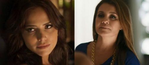 Rosa e Laureta, personagens de 'Segundo Sol''