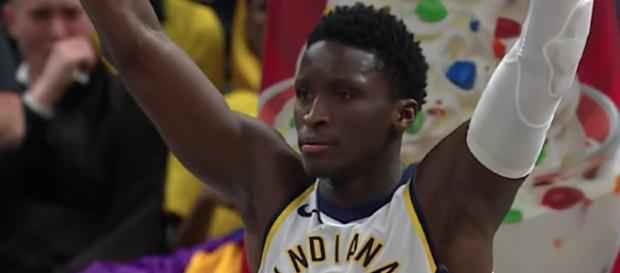All-Star Victor Oladipo recently suggested LeBron James needs to join him on the Indiana Pacers. - [Image via NBA / YouTube screencap]