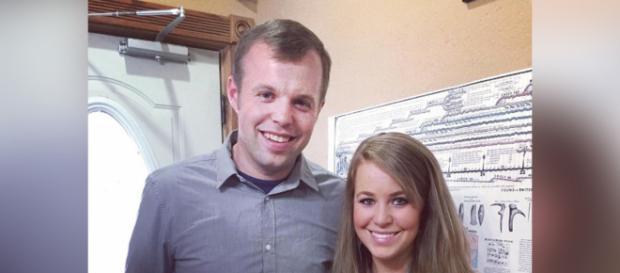 John David Duggar with sister Jana - social post