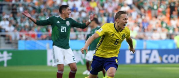 Suecia con pragmatismo le pasó por encima a México para acabar primera del Grupo F