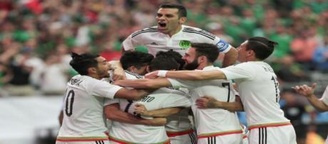 La selección mexicana demuestra una buena actitud deportiva