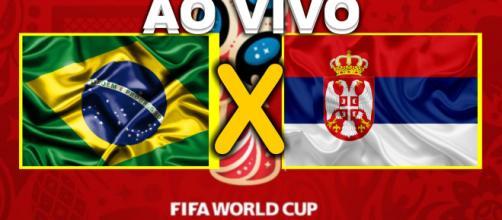 Brasil e Sérvia jogam hoje às 15 horas