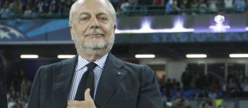 De Laurentiis, patron del Napoli, dopo aver chiuso per Lainer prova l'affondo per Hakim del Real Madrid- ilnapolionline.com