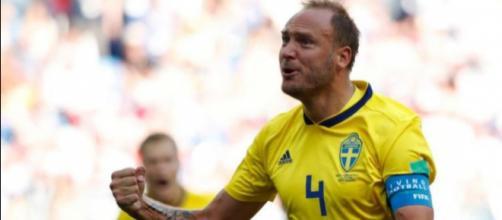 El líder del equipo sueco Berg
