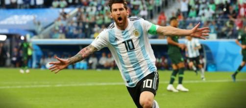 Argentina vence a Nigeria 2 goles a 1 y está en la siguiente fase
