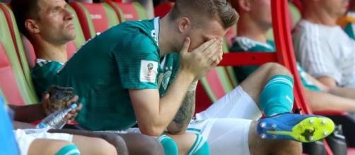 Germania, eliminazione storica dal Mondiale