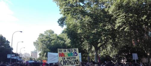 MADRID / Miles de personas se manifiestan en el Orgullo Crítico