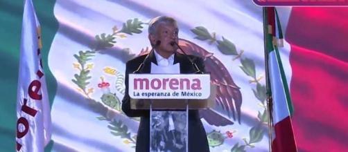 Andrés Manuel López Obrador está arriba en las encuestas para presidente de México