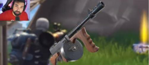 The upcoming Drum Gun in 'Fortnite' - (Image via Hollow Poiint/YouTube screncap)