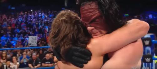 WWE Kane Returns to help Daniel Bryan Image Courtesy - (Image Credit: Windy City Heel/YouTube screencap)