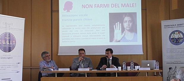1° Congresso INWA a Milano presso l'Istituto San Gaetano.