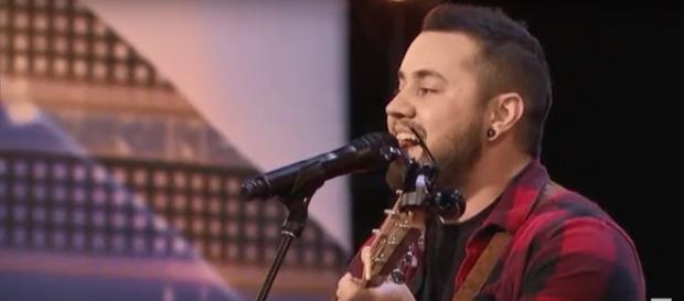 Brody Ray brought 'America's Got Talent' to a standing ovation in Season 13's Episode 5 auditions. - [AGT / YouTube screencap]