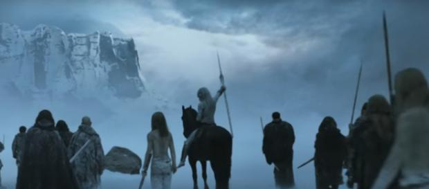 The dead Starks might be returning. - [CuriousWhale / YouTube screencap]