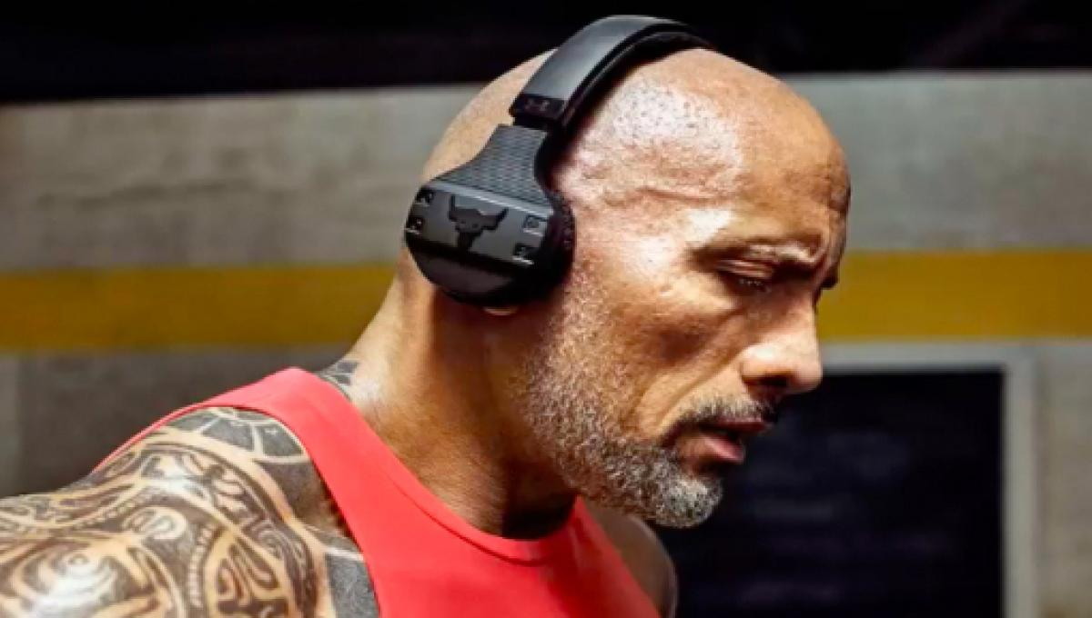 Dwayne Johnson Releases Wireless Headphones With Under