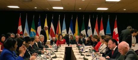 CHILE / Reunión de embajadores con el grupo de Lima en Santiago de Chile