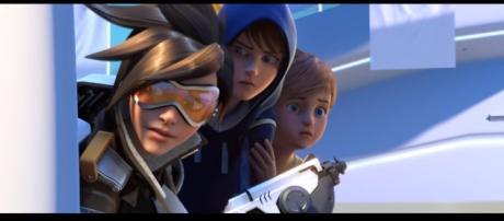 Overwatch Mini Movie (All Cinematic Trailers) 1080p HD [Image Credit: Gamer's Little Playground/YouTube screencap]