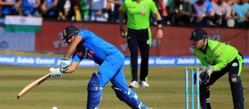 1st T20: Rohit's 97 powers India to 208 against Ireland (Image via ICC/Twitter)