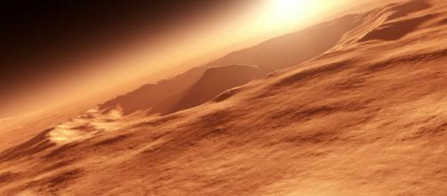 Marte formó su corteza ideal para la vida más rápido que la Tierra