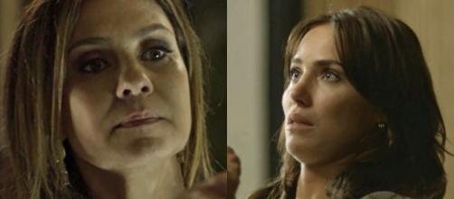 Laureta e Rosa, personagens de 'Segundo Sol'