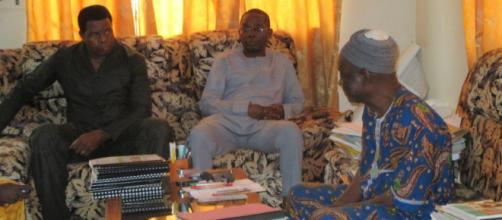 Le président de l'AIC en visite chez le préfet
