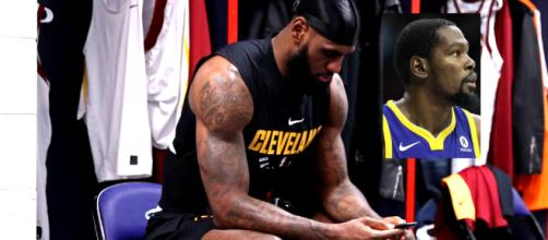LeBron reportedly sent text message to Kevin Durant about possibly teaming up [Image by D. Myles Culle / DOD] - 2
