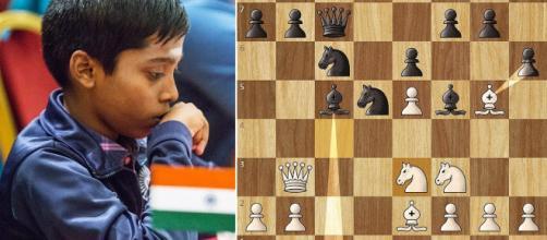 INDIA / Un adolescente se proclama como gran maestro internacional de ajedrez