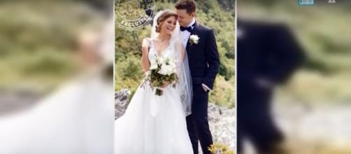 Scotty McCreery weds his love, Gabi Dugal, in an intimate North Carolina ceremony. [Image source: News Today Az/YouTube]