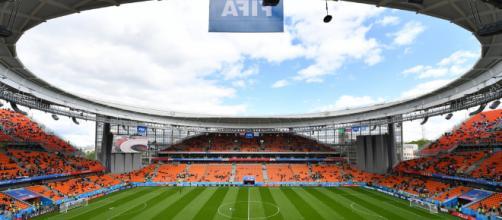 Stade Coupe du Monde de la Russie.