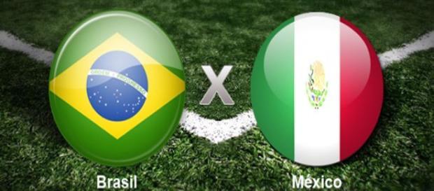 Brasil x México irão se enfrentar pelas oitavas de final da Copa do Mundo 2018.