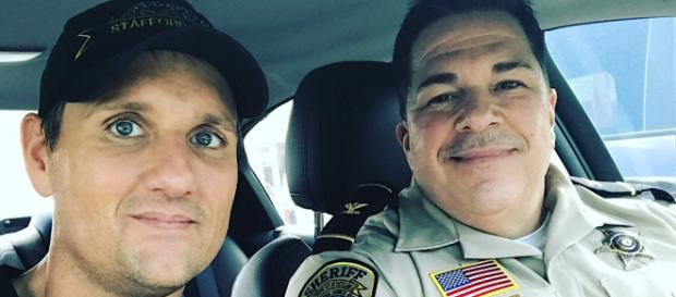 Jim Klock is an actor and a police officer. / Image via Wendy Shepherd PR, used with permission.