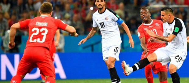 Match nul (2-2) après l'intense duel entre le Costa-Rica et la Suisse
