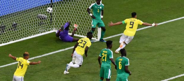 Yerri Mina a libéré la Colombie à la 74ème minute du match contre le Sénégal.