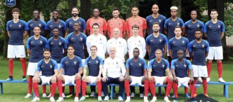 Equipe de France - Mondial 2018 : La photo officielle de l'équipe ... - foot01.com